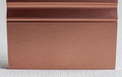 Плинтус из МДФ с алюминиевым покрытием De Checchi Luciano (Италия)