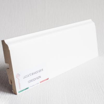 Плинтус из МДФ обёрнутый бумагой флекс De Checchi Luciano (Италия)